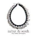 오뜨르 뒤 몽드(AUTOUR DU MONDE) SILVER STAR CHAIN NECKLACE