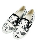 3COSTE MULTI PRINT SLIP-ON