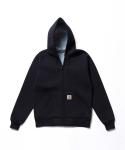 Car-Lux Hooded Jacket Black/Grey