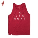알타몬트(Altamont) [Altamont] LOCKSTEP PKT TANK TOP (Red)