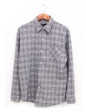 washed Linen check shirts