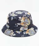 MUSINSA CAMO FLOWER BUCKET HAT (CHARCOAL)