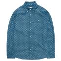 PATTERN SHIRT DA [BLUE]