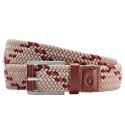 NIXON Americana Weave Belt Brown