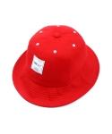 DAYLIFE BASIC BUCKET HAT (RED)