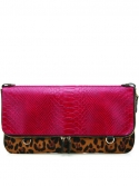 PIXI_Clutch Phyton Leopard & Red