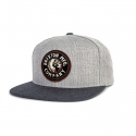 RIVAL SNAP BACK HEATHER GREY/CHARCOAL