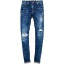 M0428 durham paint washing jeans