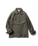 Cooper L/S Jungle Shirt Slub Olive
