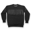 스턴트(STUNT) STUNT Chest Cutting Crewneck (Charcoal)