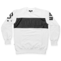 스턴트(STUNT) STUNT Chest Cutting Crewneck (White)