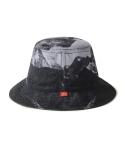 HIMALAYA REVERSIBLE BUCKET HAT (BLACK)