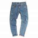 High.Cut Denim (Light Blue)