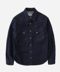 ONE WASHED DENIM WESTERN SHIRTS