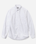 1PK SHORT POINT COLLAR SHIRT WHITE