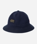 MIXED COTTON BUCKET HAT NAVY