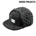 노스프로젝트 인슐레이티드 트위드 캡 / N60-0151-BLK / NORSE PROJECTS INSULATED TWEED CAP BLACK