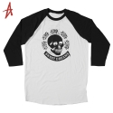 알타몬트(Altamont) [Altamont] DEATH ROSE RAGLAN 3/4 KNIT (Bone)
