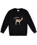 GAZELLE SWEATSHIRTS (BLACK)