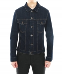 BLUE BIO WASHING DENIM JACKET