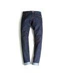 "Broken Twill ""Dark Blue"" With Stitch"