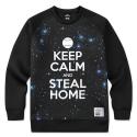 [플레이몬스터]Steal home neoprene sweat shirt_PM140819-19_black