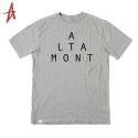 알타몬트(Altamont) [Altamont] LOCKSTEP S/S(GREY/HEATHER)