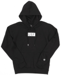 USF RECTANGLE LOGO HOODY BLK