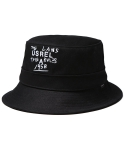 1958 BUCKET HAT BLACK