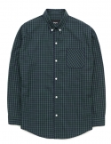 Green tartan check shirts
