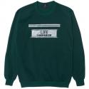 ★순차적 예약발송★LOW LIFE 89 SWEAT SHIRT GREEN
