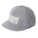 UHG 35 think twice snapback_grey(남여공용)