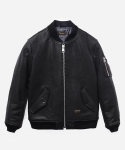 MA-1 LEATHER JACKET