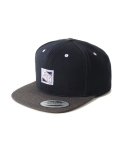 BASIC COTTON SNAPBACK (NAVY)