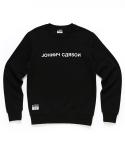 자니카슨 JC 맨투맨 티셔츠-Black(기모안감)