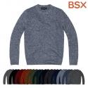 BSX 054503 램스울 크루넥 풀오버 (5게이지)