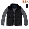 BSX 074506 목넥 패딩 베스트(블로킹)