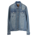 UTD 91 soft denim jacket_blue(남여공용)