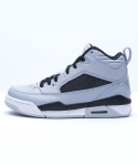 조던 플라이트 9.5 JORDAN FLIGHT 9.5 WOLF GREY/BLACK/PURE PLATINUM/VIBRANT YELLOW [654975-070]