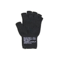 로스코(ROTHCO) FINGERLESS WOOL GLOVES(BLACK)