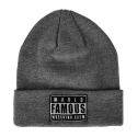FAMOUS S.A.S WFWC Roll Up Beanie
