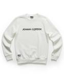 자니카슨 JC 맨투맨 티셔츠-White(기모안감)