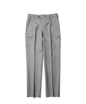Core Cargo Slacks Pants Grey