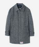 HARRIS TWEED MACKINTOSH COAT (맥코트) GRAY