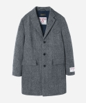 HARRIS TWEED CHESTERFIELD COAT