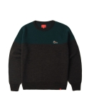 PHEASANT KNIT SWEATER (CHARCOAL)