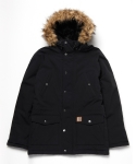 Trapper Parka Black/Black