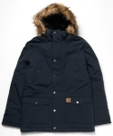 Trapper Parka Dark Petrol/Black