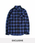 """Tartan Check Shirts """"Blue"""""""