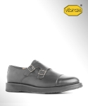 컬러콜라(COLOR COLLA) BLACK SOLE DOUBLE MONK STRAP